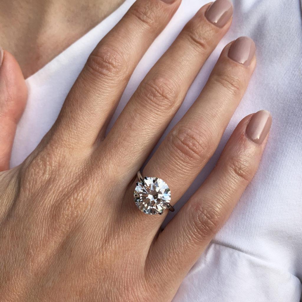 handmade bespoke diamond engagement rings dublin ireland designyard ronan campbell 6ct 5ct 4ct 3ct 2ct 1ct