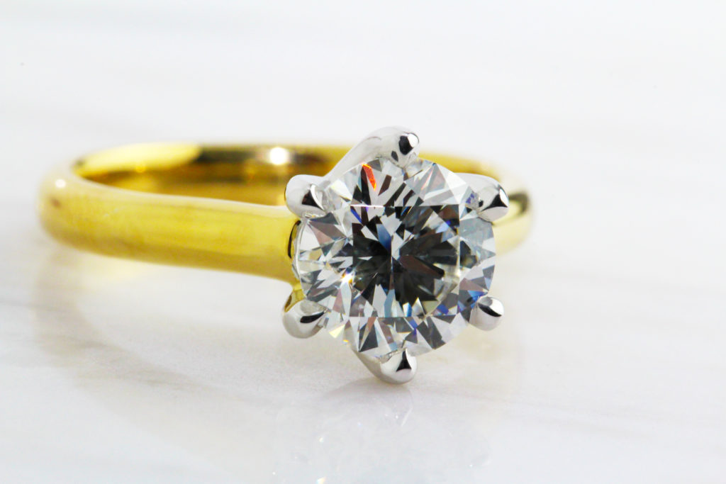 solitaire diamond engagement ring dublin ireland ronan campbell designyard