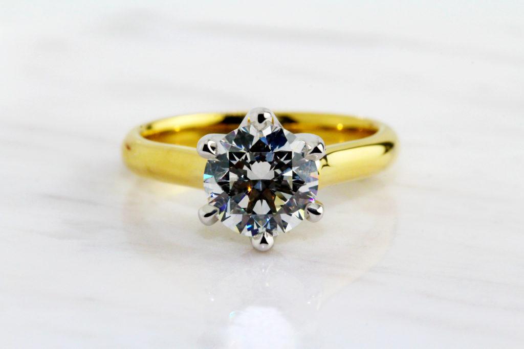 diamond engagement rings dublin ireland designyard solitaire ronan campbell six claw design hand made in dublin ireland adare manor
