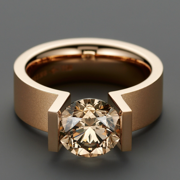 niessing highend diamond engagement ring at designyard dublin ireland ronan campbell niessing arrives at designyard